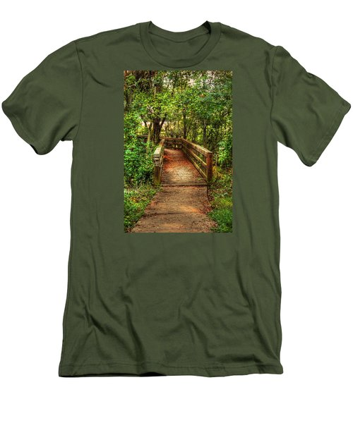 The Pathway Men's T-Shirt (Slim Fit) by Ester  Rogers