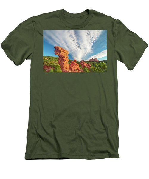 The Photogenic Purlieu Of Our Home, Sweet Hometown  Men's T-Shirt (Athletic Fit)