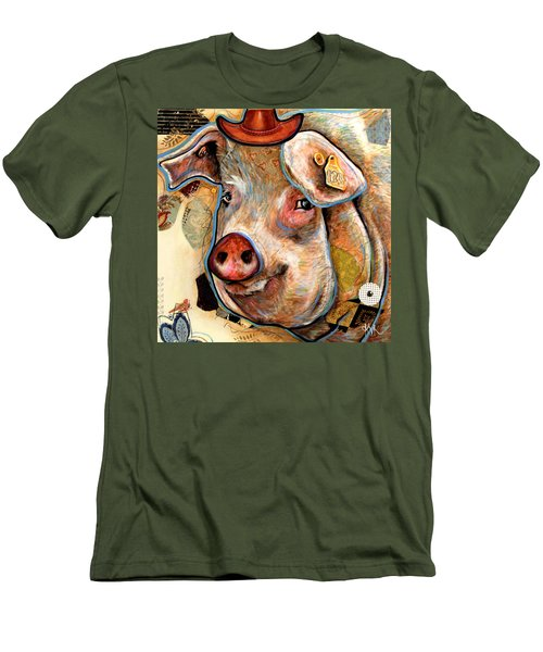 The Pig Men's T-Shirt (Athletic Fit)