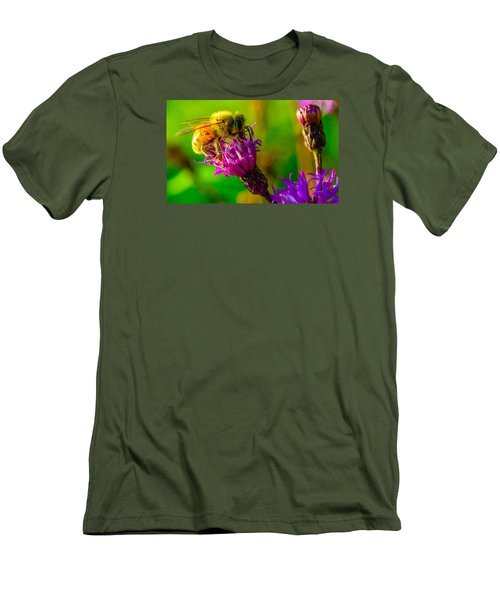The Pollinator 2 Men's T-Shirt (Slim Fit) by Brian Stevens
