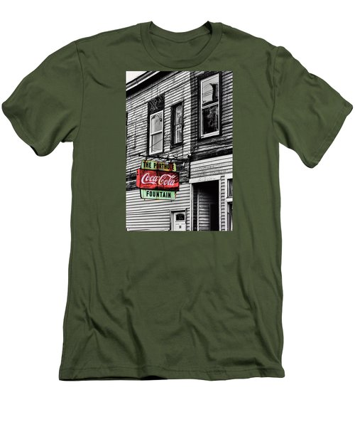 The Porthole Portland Maine Men's T-Shirt (Slim Fit) by Tom Prendergast