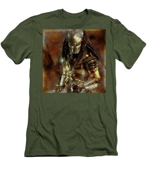 The Predator Scroll Men's T-Shirt (Slim Fit) by Mario Carini