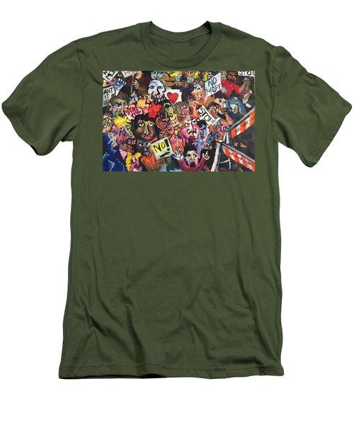 The Protest  Men's T-Shirt (Athletic Fit)