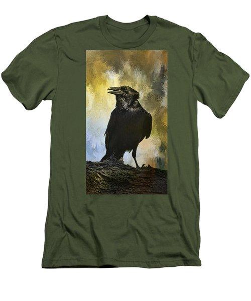 The Raven Men's T-Shirt (Slim Fit) by Barbara Manis