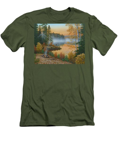 The Rising Sun Men's T-Shirt (Athletic Fit)