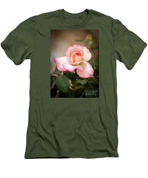 The Rose Men's T-Shirt (Slim Fit) by Janice Rae Pariza