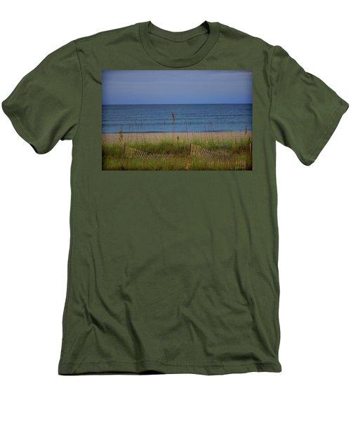 The Sea Shore Line Men's T-Shirt (Athletic Fit)
