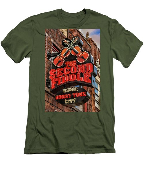 Men's T-Shirt (Slim Fit) featuring the photograph The Second Fiddle Nashville by Stephen Stookey