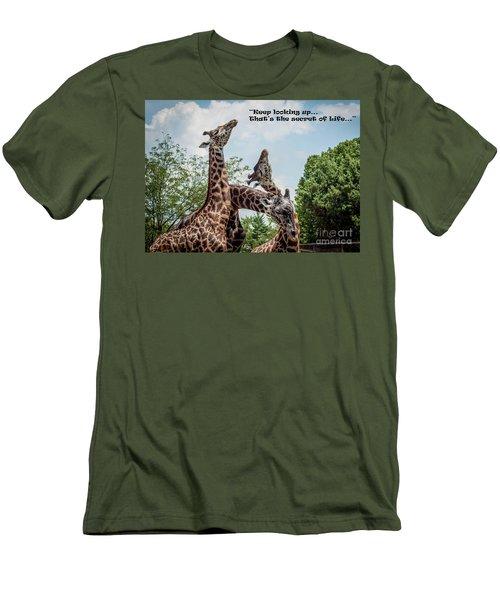 The Secret Of Life Men's T-Shirt (Slim Fit)