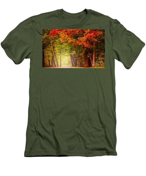 The Secret Place Men's T-Shirt (Slim Fit) by Rima Biswas