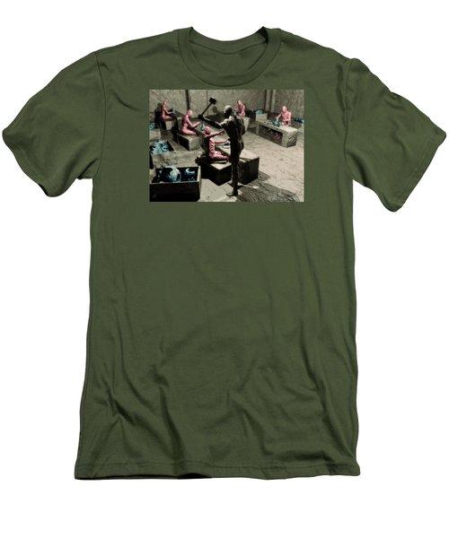 The Secret Price Of Savings Men's T-Shirt (Athletic Fit)