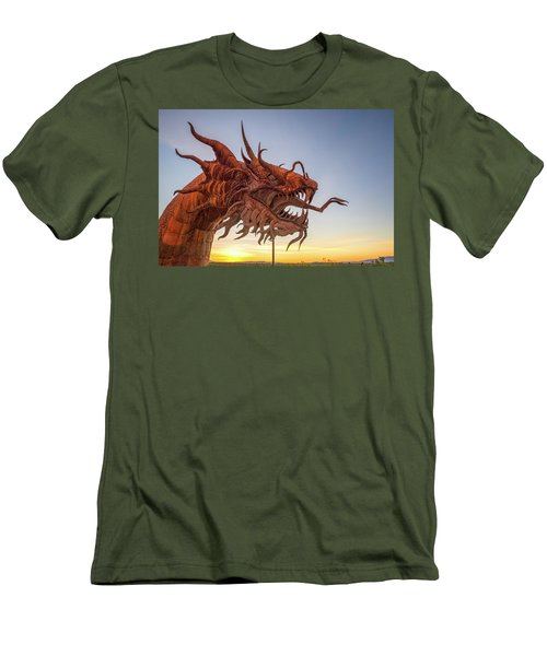 The Serpent At Sunrise #3 Men's T-Shirt (Slim Fit)