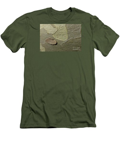 The Skin Of Tree Men's T-Shirt (Slim Fit) by Jean Bernard Roussilhe