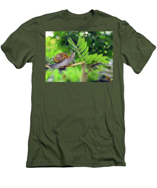 The Snail Men's T-Shirt (Athletic Fit)