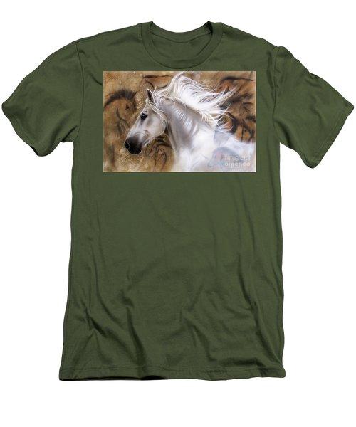 The Source II Men's T-Shirt (Slim Fit) by Sandi Baker