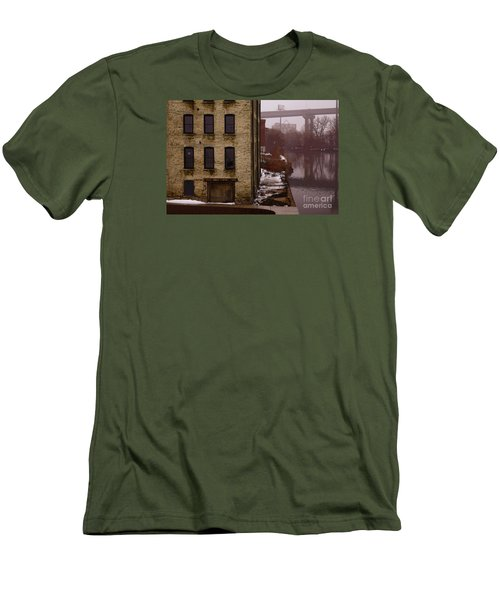 The South Bank Men's T-Shirt (Slim Fit) by David Blank