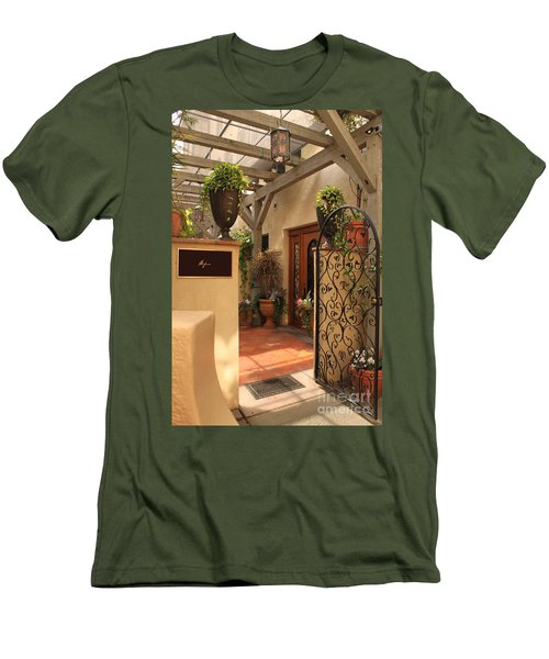 The Spa Men's T-Shirt (Slim Fit) by James Eddy