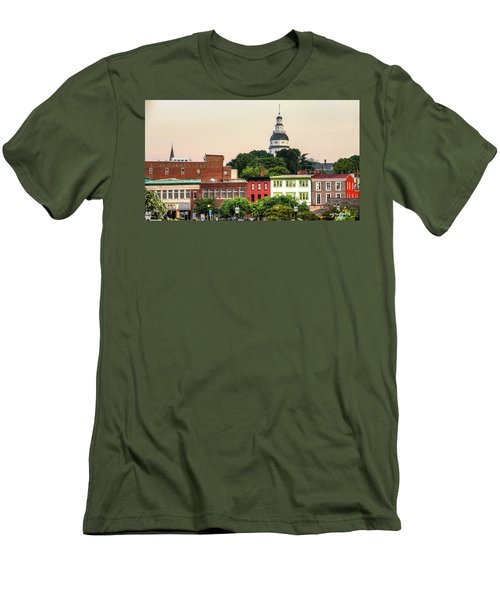 The State Capitol Men's T-Shirt (Athletic Fit)