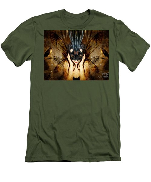 Men's T-Shirt (Slim Fit) featuring the photograph The Story Of What I Came To Be by Heather King