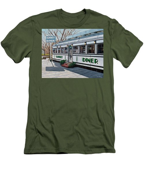 The Summit Diner Men's T-Shirt (Athletic Fit)