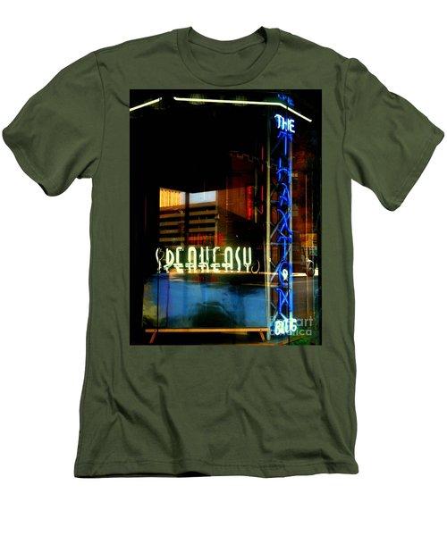 The Thaxton Speakeasy Men's T-Shirt (Athletic Fit)