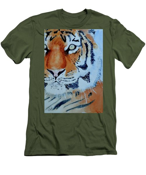 The Tiger Men's T-Shirt (Athletic Fit)