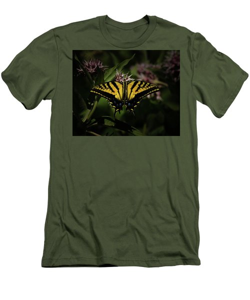 The Tiger Swallowtail Men's T-Shirt (Slim Fit) by Ernie Echols