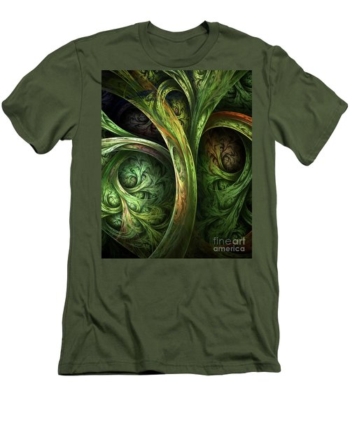 The Tree Of Life Men's T-Shirt (Slim Fit) by Olga Hamilton