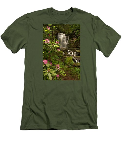 The Tropics Of North Carolina Men's T-Shirt (Athletic Fit)