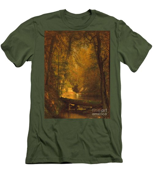 The Trout Pool Men's T-Shirt (Slim Fit) by John Stephens