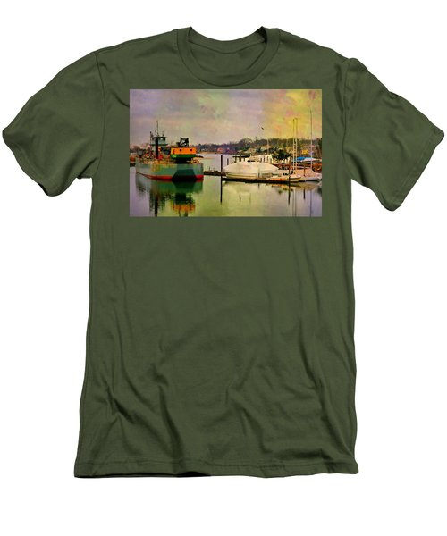 The Tug Boat Men's T-Shirt (Athletic Fit)