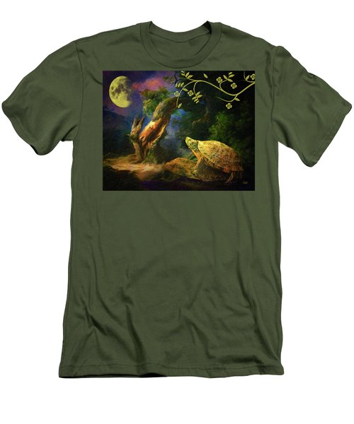 The Turtle Of The Moon Men's T-Shirt (Athletic Fit)