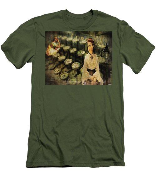 The Typist Men's T-Shirt (Athletic Fit)