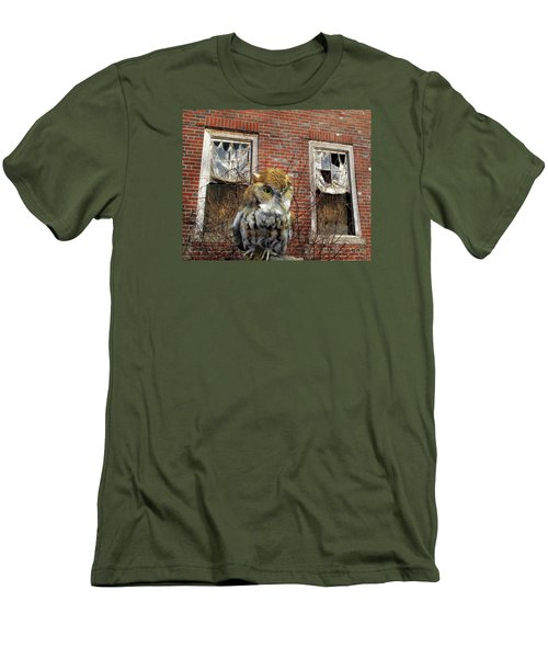 Men's T-Shirt (Slim Fit) featuring the photograph The Watch by Lynda Lehmann