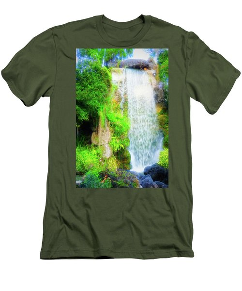 The Water Falls Men's T-Shirt (Athletic Fit)