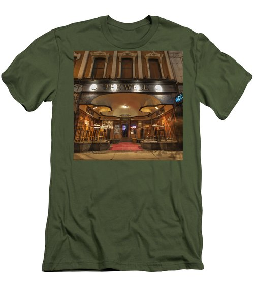 Men's T-Shirt (Slim Fit) featuring the photograph The Well by Nicholas Grunas