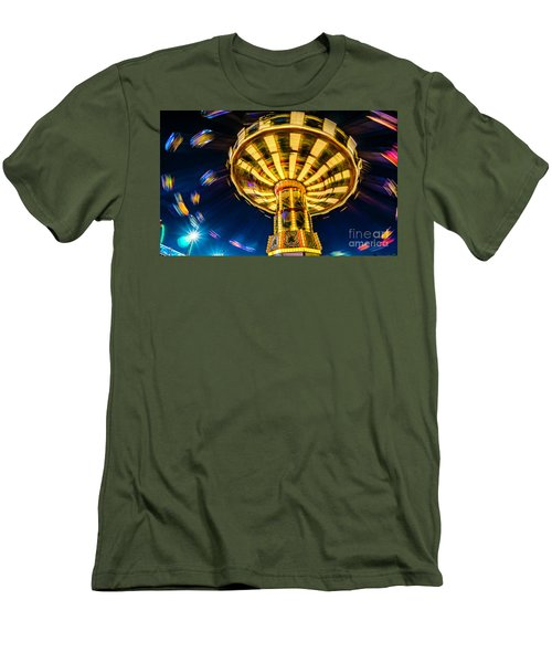 The Wheel Men's T-Shirt (Athletic Fit)