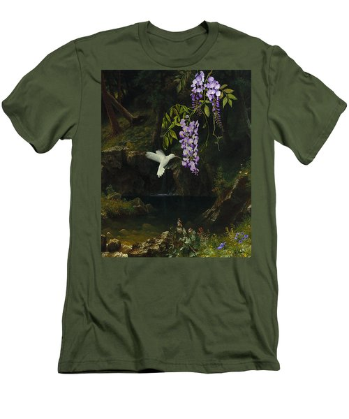 The White Hummingbird Men's T-Shirt (Athletic Fit)