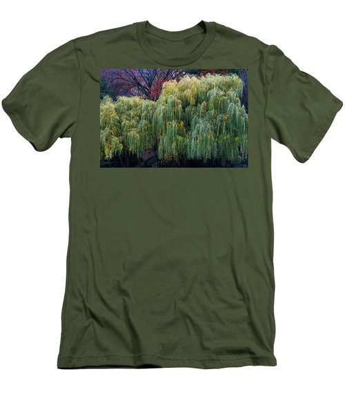 The Willows Of Central Park Men's T-Shirt (Athletic Fit)