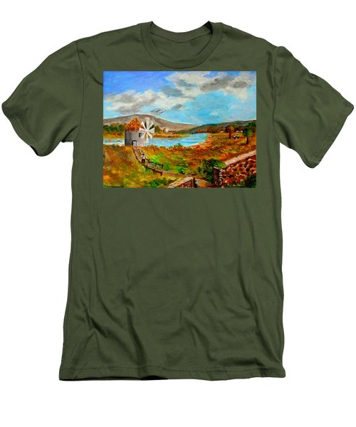 The Windmill Men's T-Shirt (Athletic Fit)