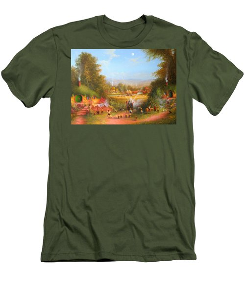 Fireworks In The Shire. Men's T-Shirt (Athletic Fit)