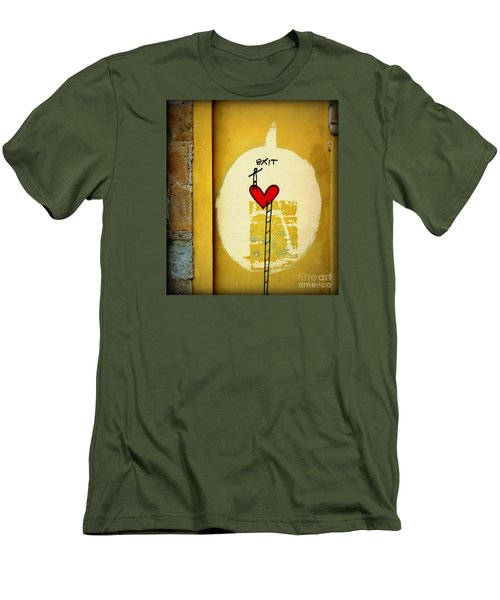 The Writing On The Wall Men's T-Shirt (Slim Fit) by Tanya Searcy