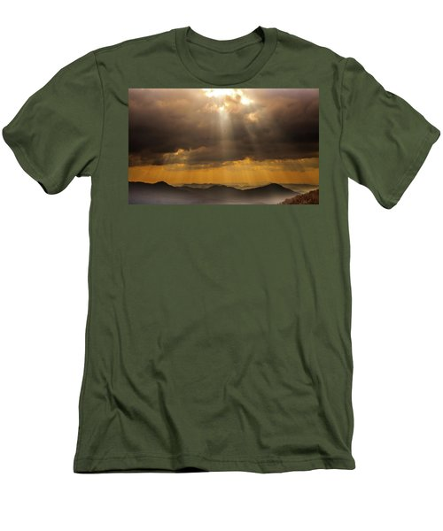 Men's T-Shirt (Slim Fit) featuring the photograph Then Sings My Soul by Karen Wiles