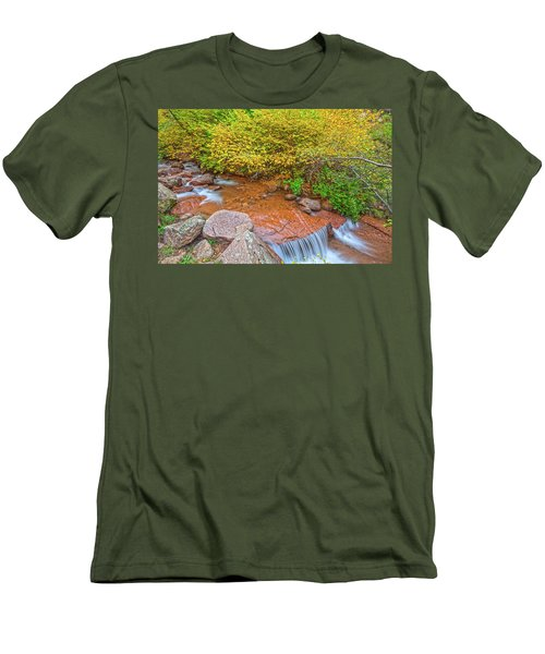 There Is No Greater Invitation To Love Than In Loving First.  Men's T-Shirt (Athletic Fit)
