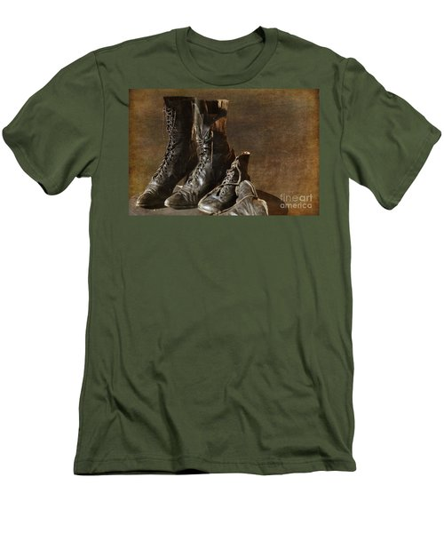 These Boots Are Made For Walking Men's T-Shirt (Athletic Fit)
