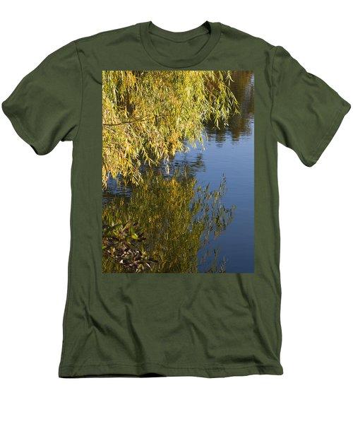 Men's T-Shirt (Slim Fit) featuring the photograph Thinking by Tara Lynn