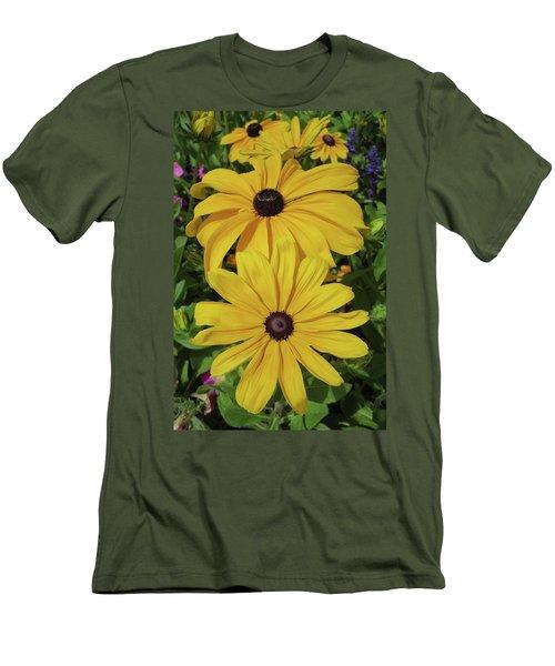 Men's T-Shirt (Slim Fit) featuring the photograph Thirteen by David Chandler