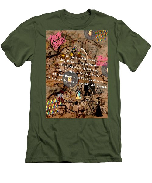 Thirty Years Men's T-Shirt (Athletic Fit)