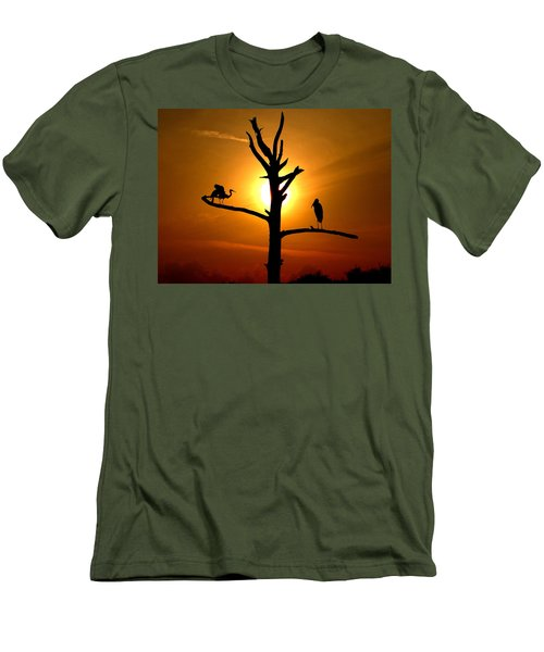 This Land Is Our Land Men's T-Shirt (Athletic Fit)