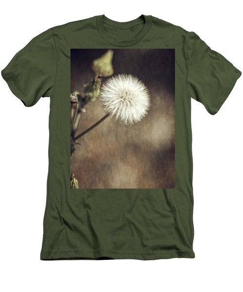 Men's T-Shirt (Slim Fit) featuring the photograph Thistle by Carolyn Marshall